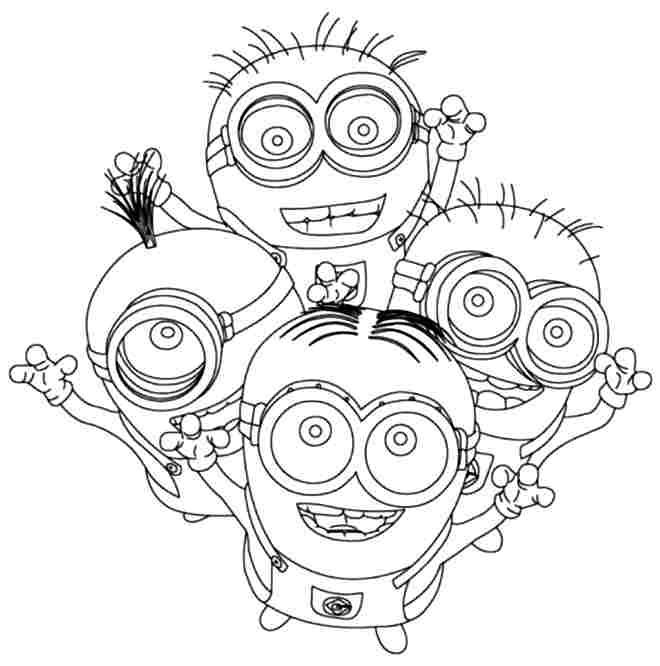 Despicable Me Coloring Pages | Coloring Pages | Pinterest
