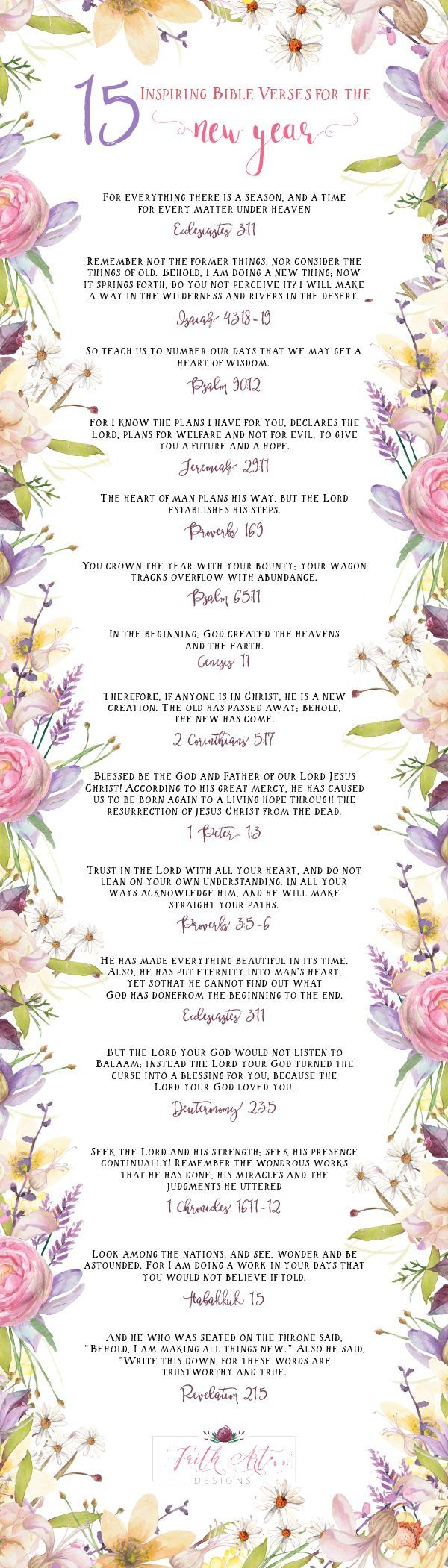 Small Crop Of New Year Scripture