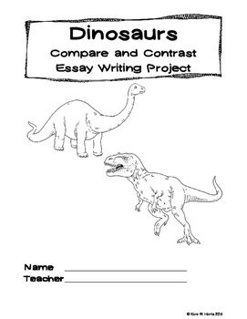 Dinosaur Compare and Contrast Essay Writing Animal and