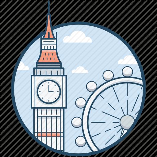 Big Ben Ferris London London Eye Millennium Icon Download On Iconfinder London Eye Big Ben Millennium