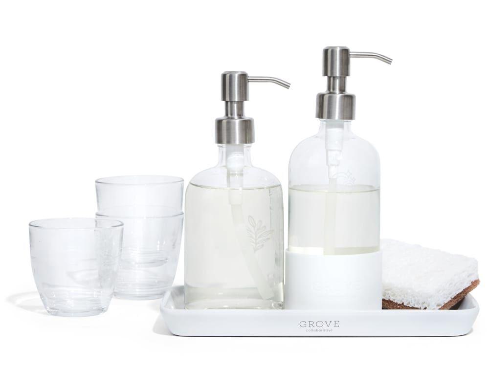 Download Wallpaper White Kitchen Sink Caddy