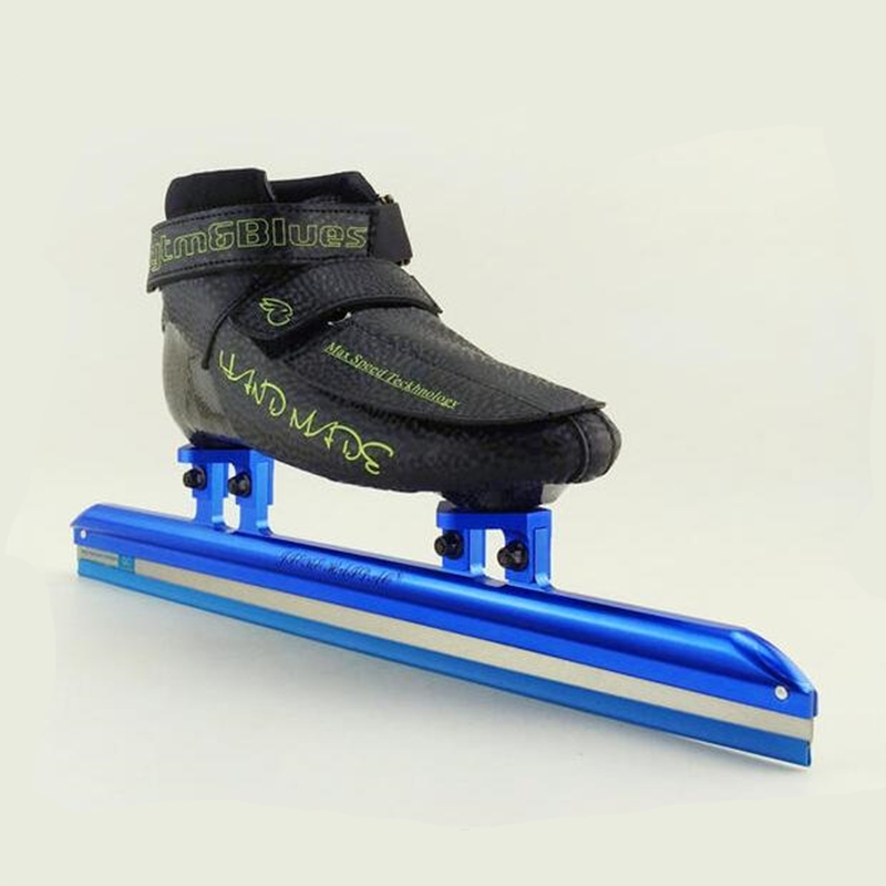 169.00$  Buy now - http://alik9p.worldwells.pw/go.php?t=32789704477 - Professional Short Track Ice Blade Inline Skates for Adults Speed Racing Skating, 7075 Alloy 150mm 165mm Frame Hyper Fiber Boot 169.00$