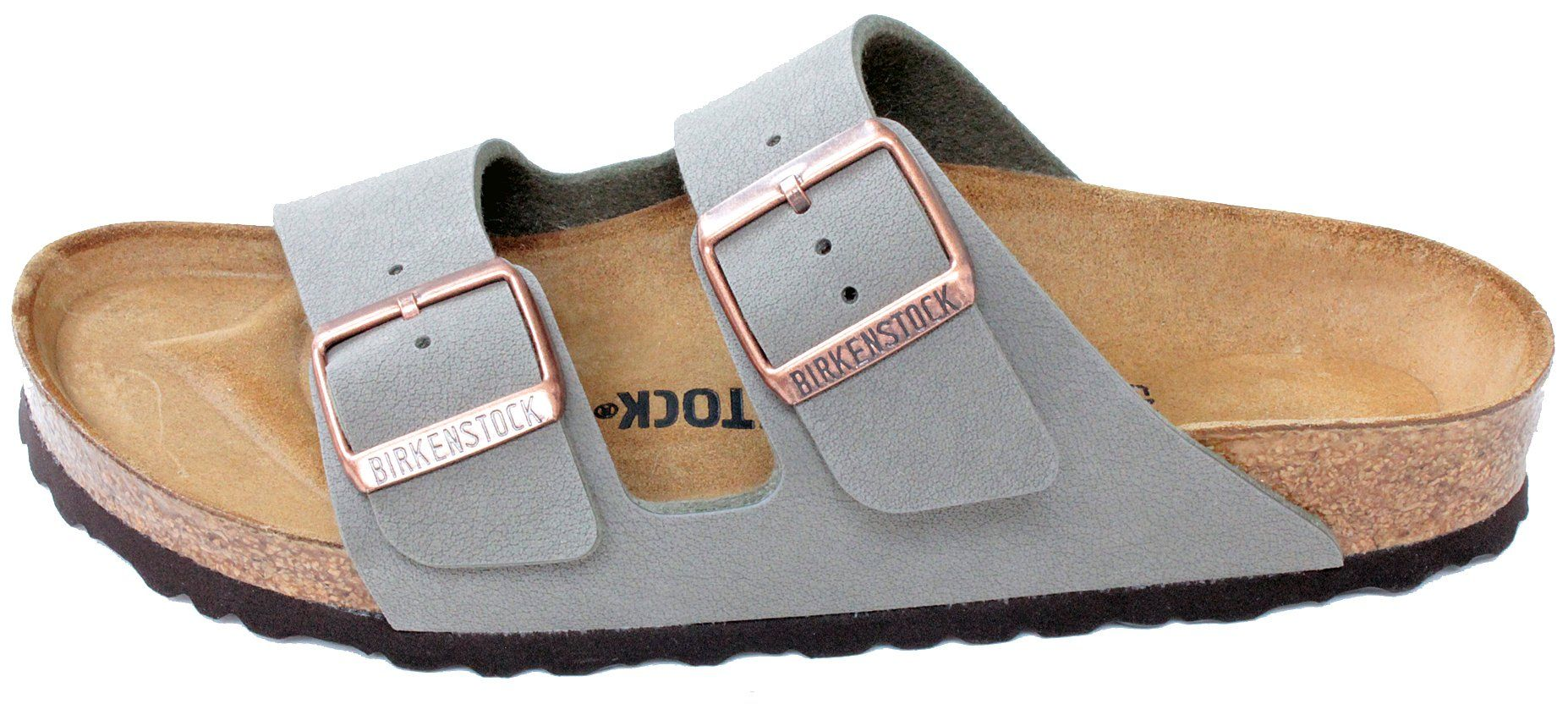 fdf376e5da Birkenstock Arizona 2Strap Womens Sandals in Stone BirkoFlor 39 N EU Narrow    You can get additional details at the image link. (This is an affiliate  link)