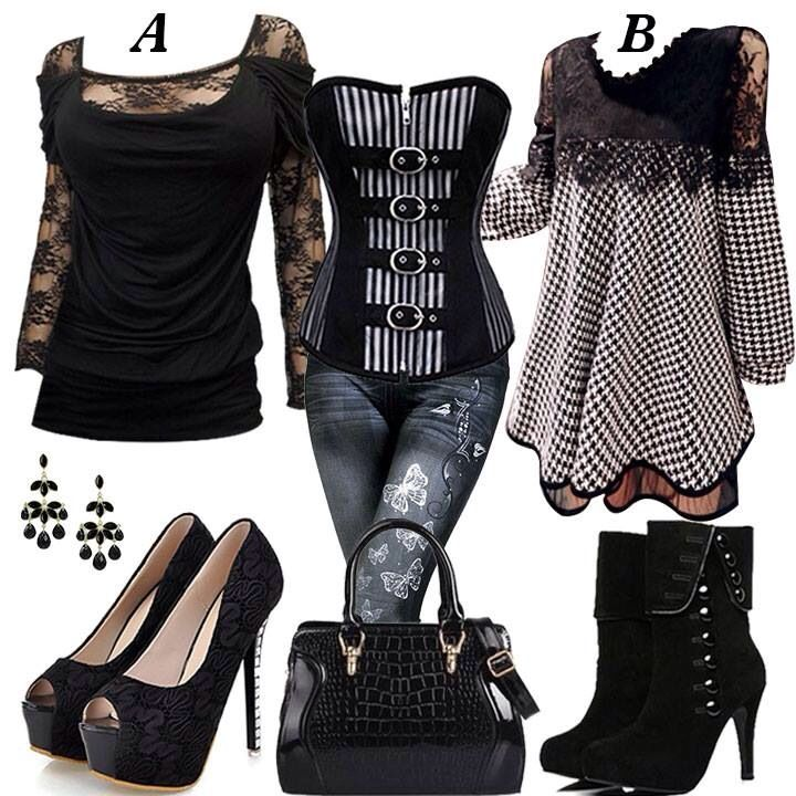 This reminds me of sons of anarchy I think Gemma  would wear this and Wendy too. Of corse I would love this for my self too