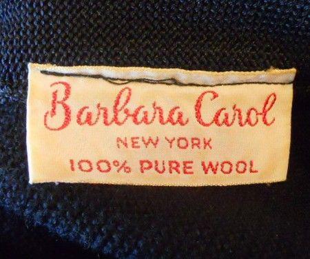 Barbara Carol 1950s dress, Dorothea's Closet Vintage archives