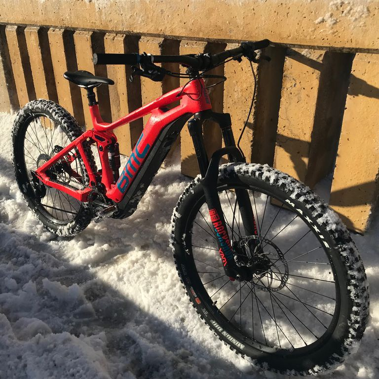 How An E Mountain Bike Saved My Commute In Winter Storm Avery