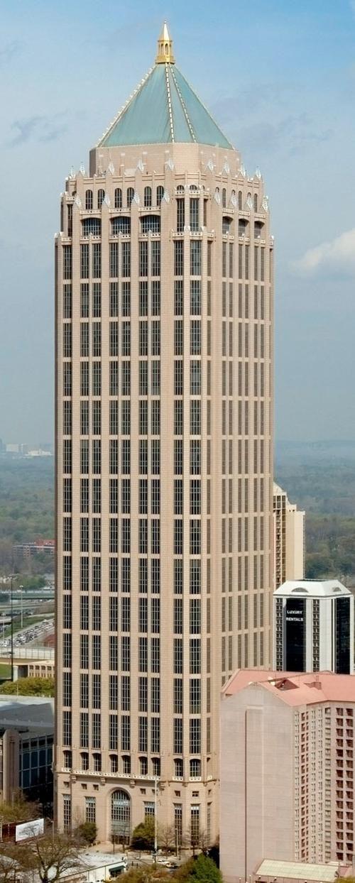 One Atlantic Center With Images Atlanta Skyline Atlanta Condo