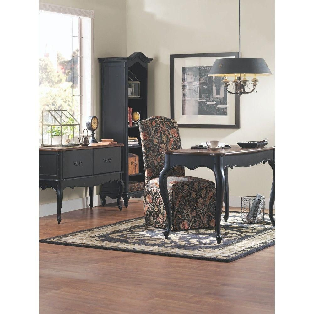home decorators collection provence black and chestnut