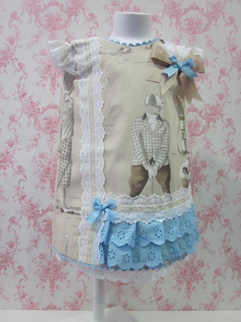 Vestido Hilda Sordo Disponible En Nuestra Tienda On Line Www Selobaby Es Boy Fashion Children Fashion