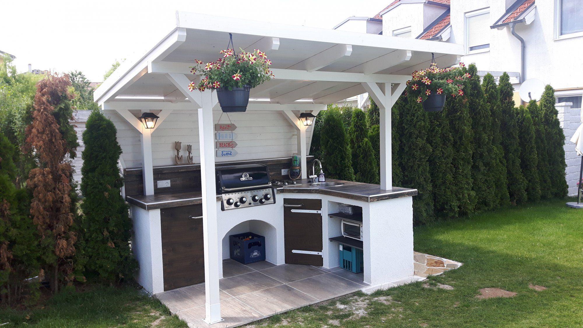 Outdoor Küche Eigenbau (mit Bildern) Outdoor küche