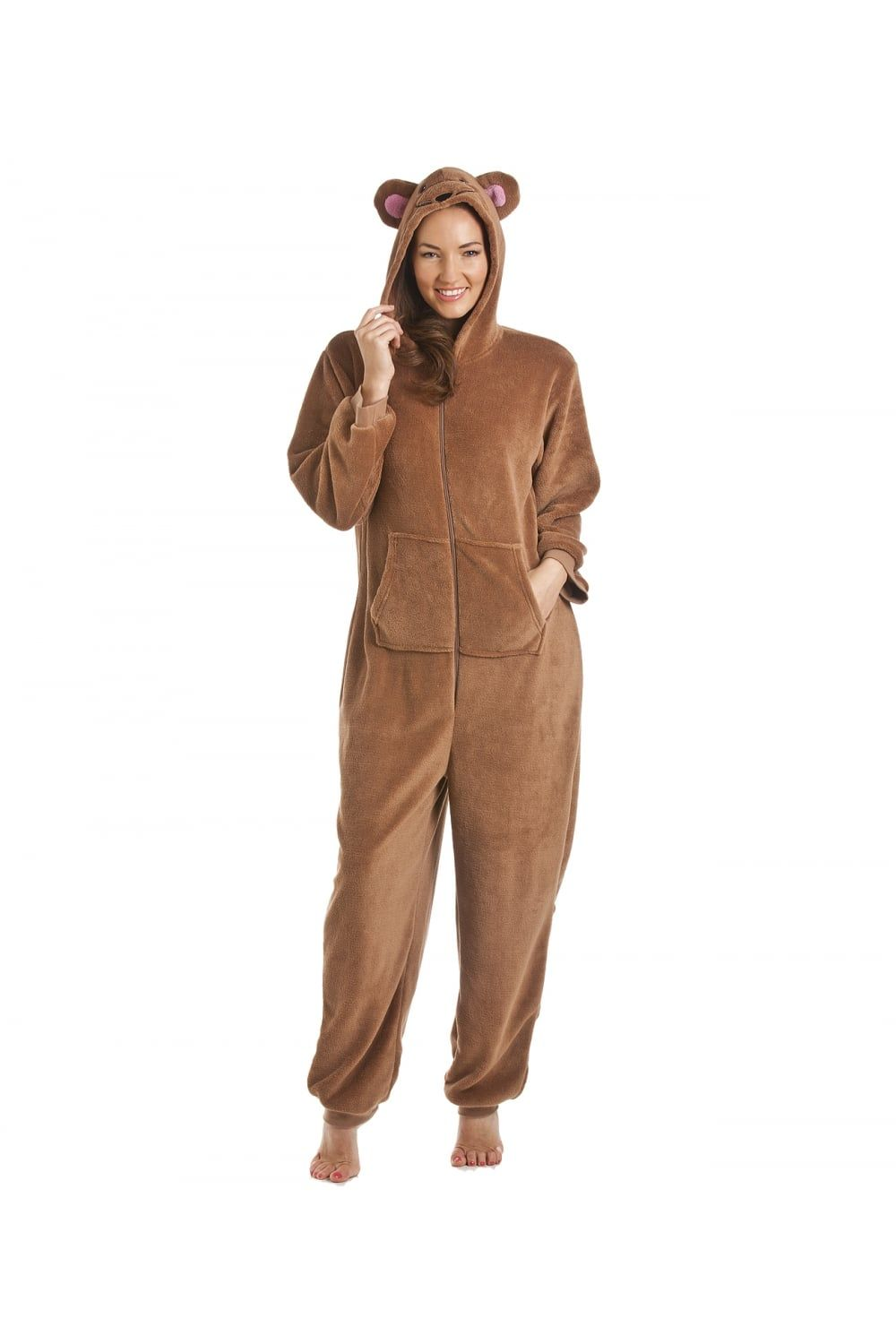 Brown mouse onesie