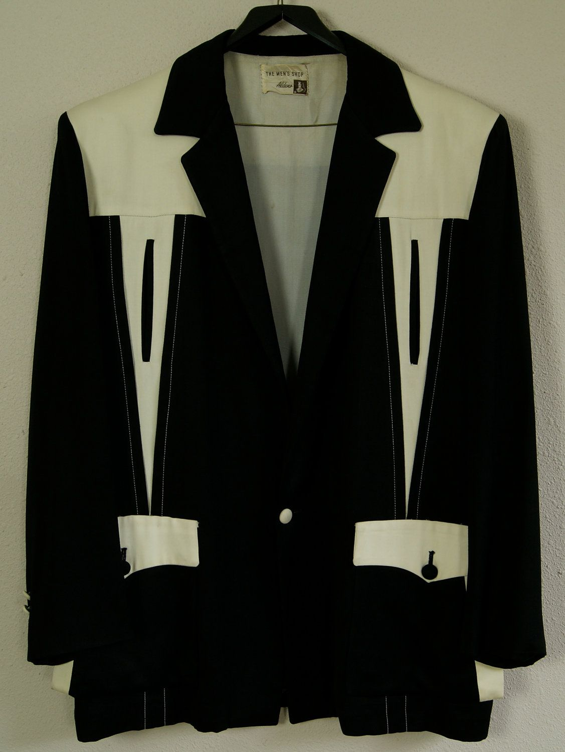 50s XL Hollywood Jacket  Aldens  The Mens Shop by HicUpLounge