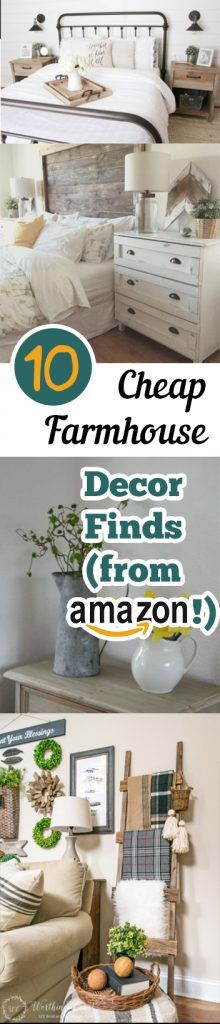 10 cheap farmhouse decor ideas from amazon idee decola maisondécor