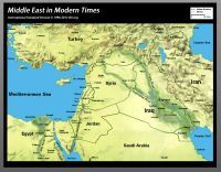 Bible Maps: ISV Bible Atlas Middle East in modern times   Bible ...