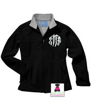 Monogrammed Ladies' Ultima Soft Shell Jacket  - Black