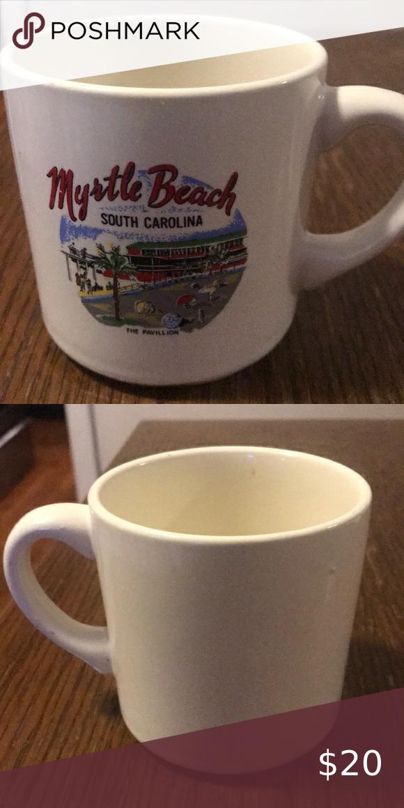 Vintage Myrtle Beach S C Coffee Mug In 2020 Mugs Coffee Mugs Vintage Coffee And Tea Accessories