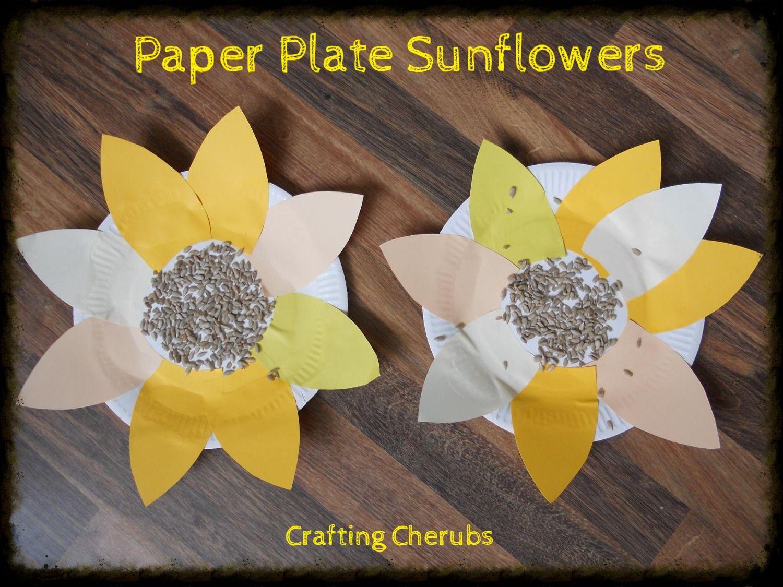 Paper Plate Sunflower Craft. Toddler Sunflower Craft. Summer Toddler Craft. & Crafting Cherubs. Paper Plate Sunflower Craft. Toddler Sunflower ...