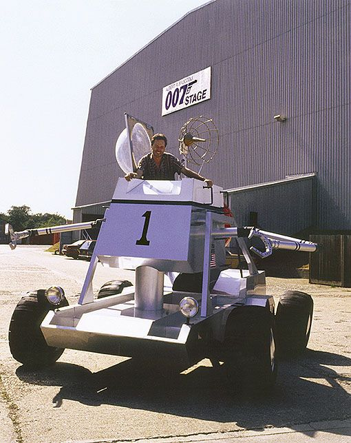 Diamonds Are Forever Moon Buggy