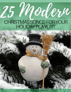25 best modern christmas songs for your festive diy playlist - Best Modern Christmas Songs
