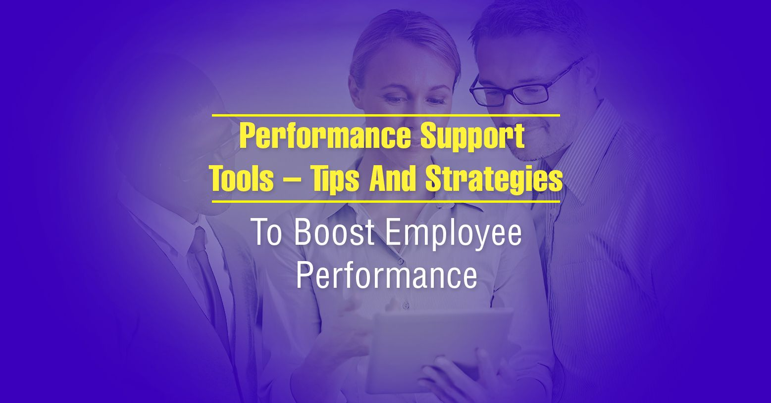 Well, plenty! We offer a variety of Performance Support solutions to push knowledge application on the job.  #PerformanceSupportTool #LearningandPerformance #PerformanceTool #SupportTool #Learning #Performance