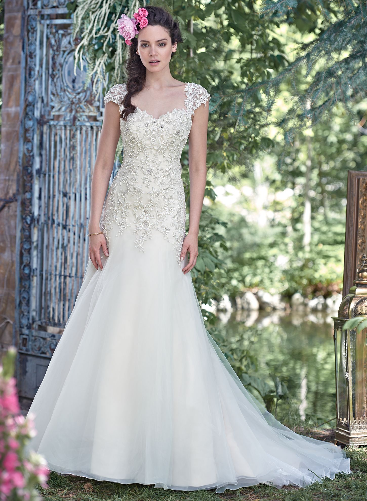 Simple Maggie Sottero Wedding Dresses