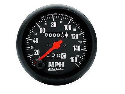 Autometer 2694 Z Series In Dash Mechanical Speedometer New Mechanic Gauges Electrical Wiring Diagram