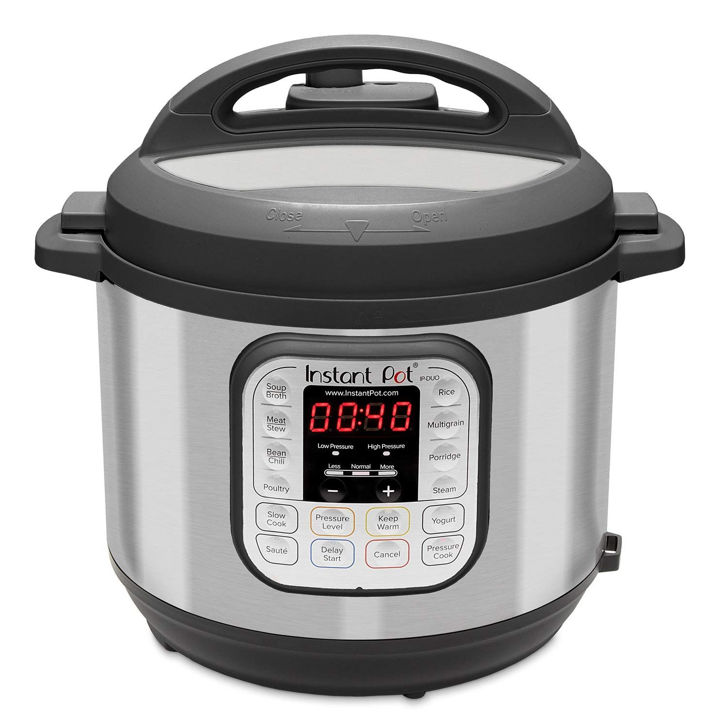 Instant pot duo60 6 qt 7in1 multiuse programmable