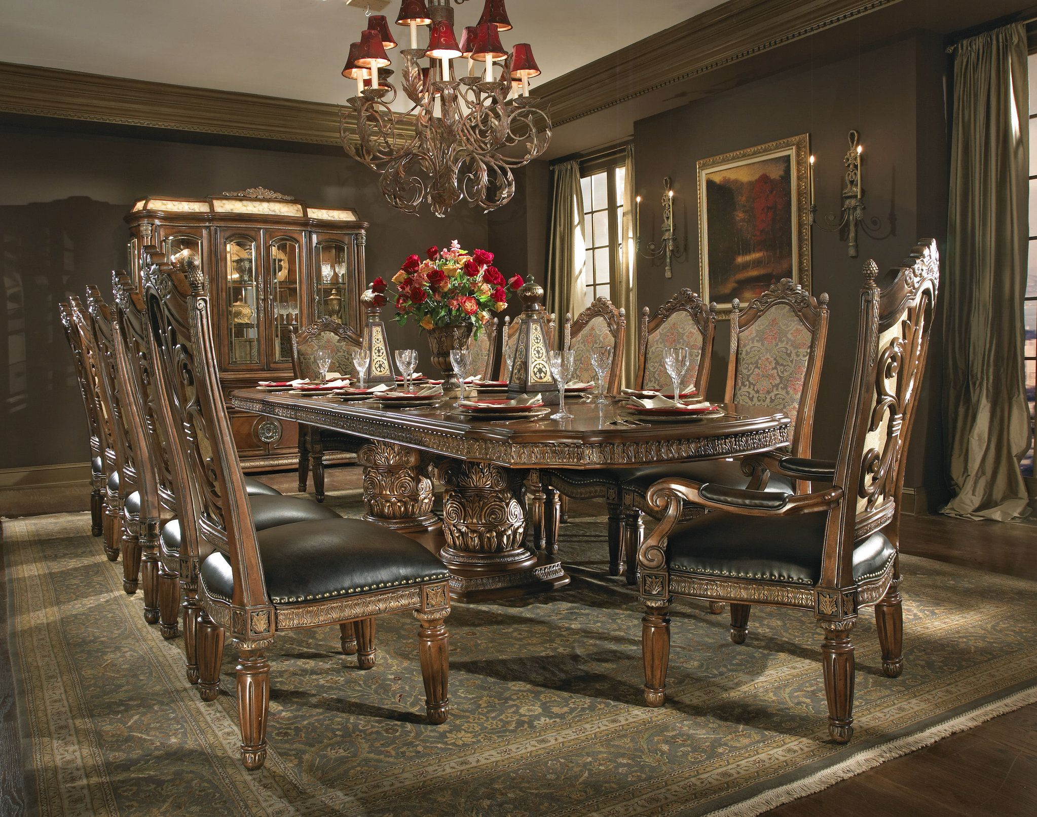 The Villa Valencia Formal Dining Room Collection 12368 32 000
