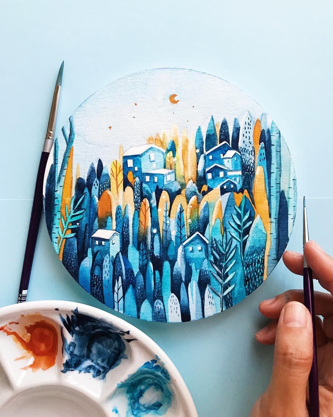 Pin En Art Landscape