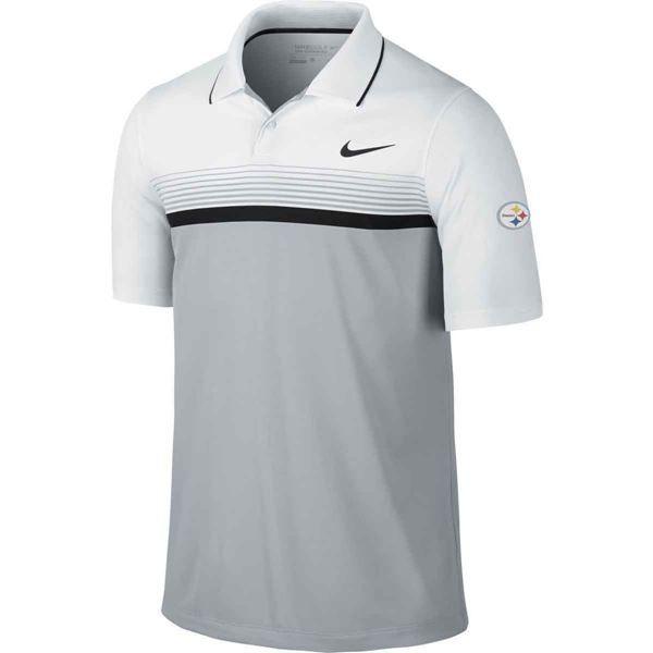 dada9585f Picture of Pittsburgh Steelers Nike Momentum Stripe Polo | Golf ...
