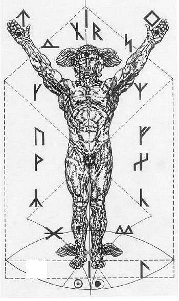 Vril Energy, Runes & Galdrstafir