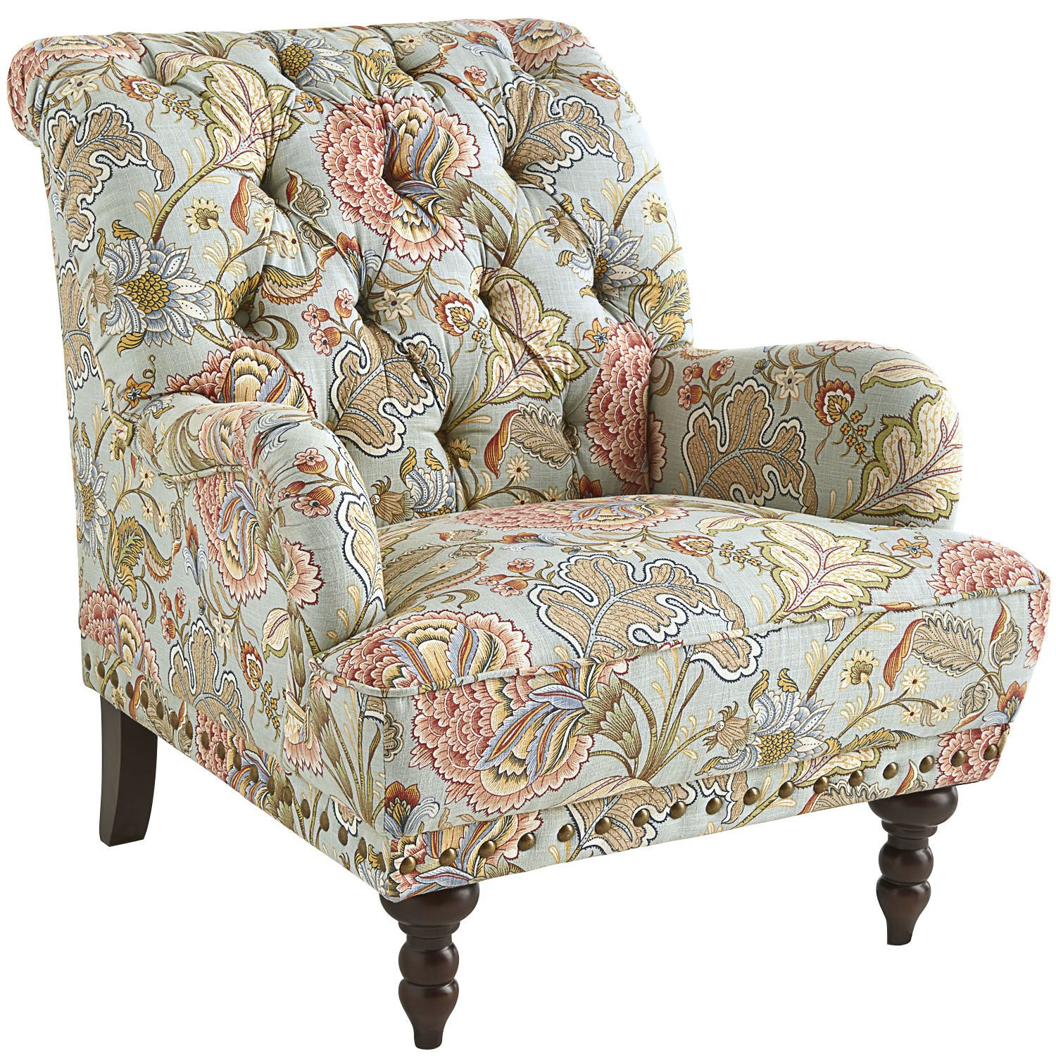 Beautiful Chas Armchair   Blue Meadow | Pier 1 Imports 500