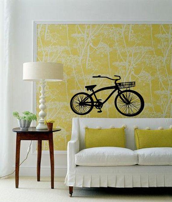 Amaze balls of a bike - Beach Cruiser Inspired -Vinyl wall art ...