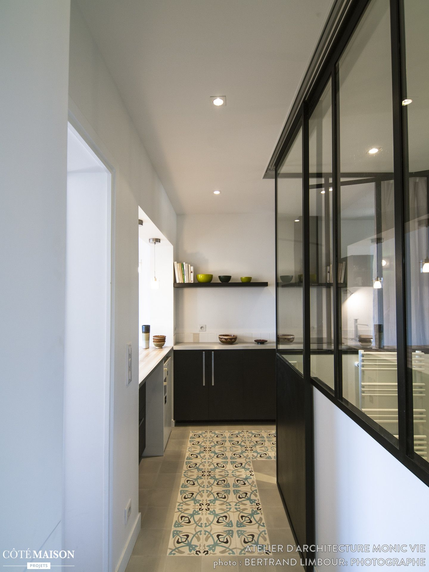 R habilitation appartement paris 18 me atelier d 39 architecture monic vie c t maison projets - Maison de la hongrie paris ...