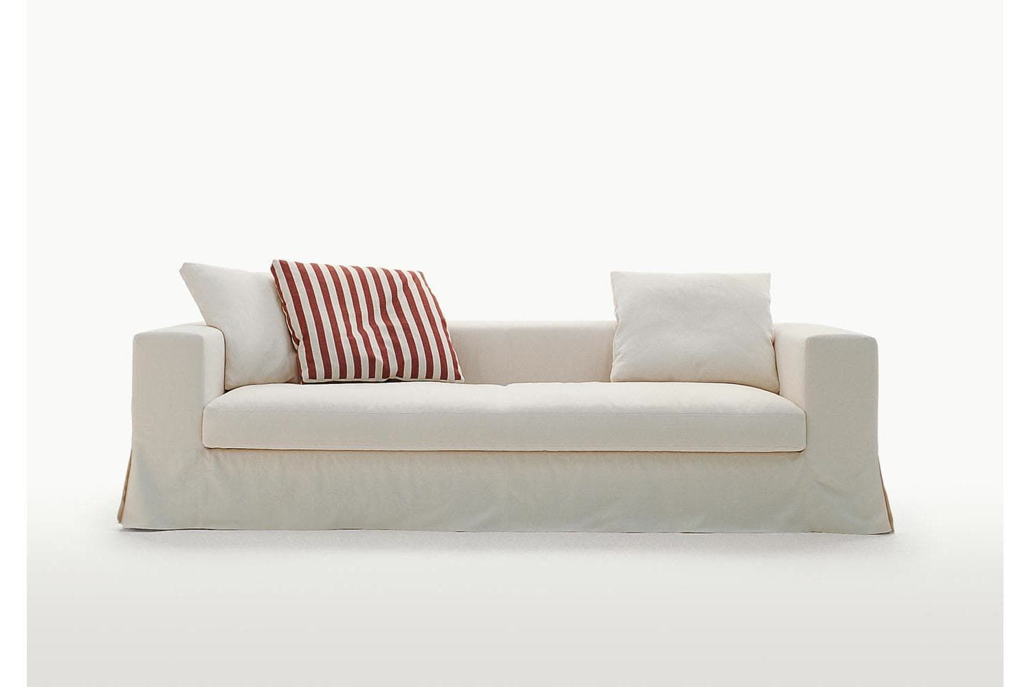 Simplex Sofa With Slip Cover By Antonio Citterio For Maxalto