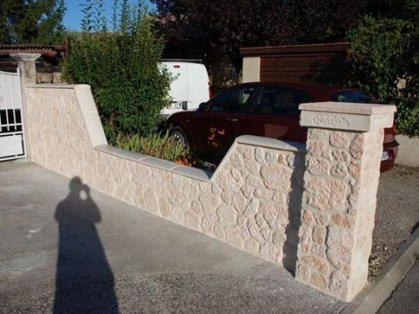 Mur d\'entrée en plaquettes de parement | ali | Pinterest | Belle