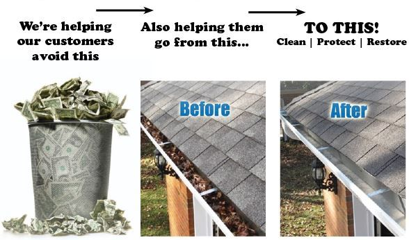 Pin On Gutter Clean Out Protection