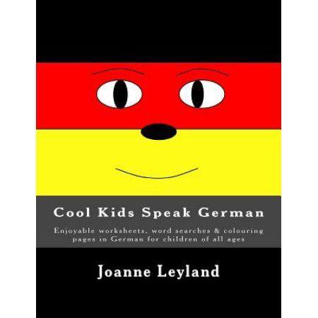 Cool Kids Speak German Enjoyable Worksheets Word Searches