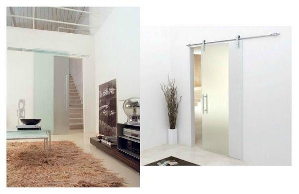 Puertas correderas tipo granero para interiores estilo for Puertas tipo granero