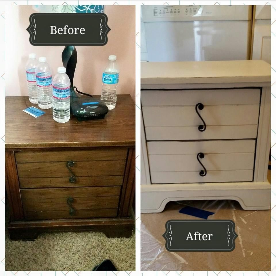 Created By Rachel Jones Valspar Chalky Finish In Kid S Gloves Distressing And Light Wax Such An Easy Diy Furniture Decor Redo Furniture Furniture Makeover
