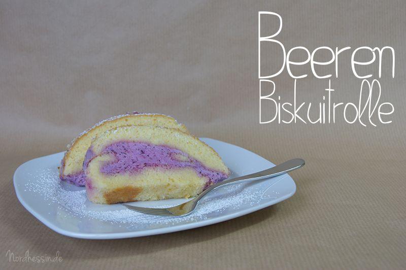 Beeren-Biskuitrolle :)