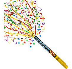 Large Party Confetti Cannon 23 x 2