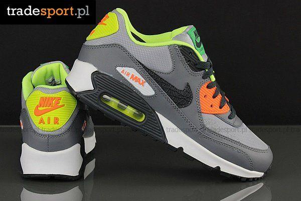 Buty Nike Air Max 90 Gs 705499 002 Buty Mlodziezowe Nike Air Max Nike Air Max 90 Air Max