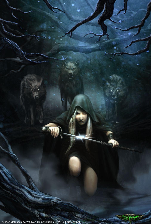 Dark Riding Hood Shadow Era By Ortheza Fantasy Dark