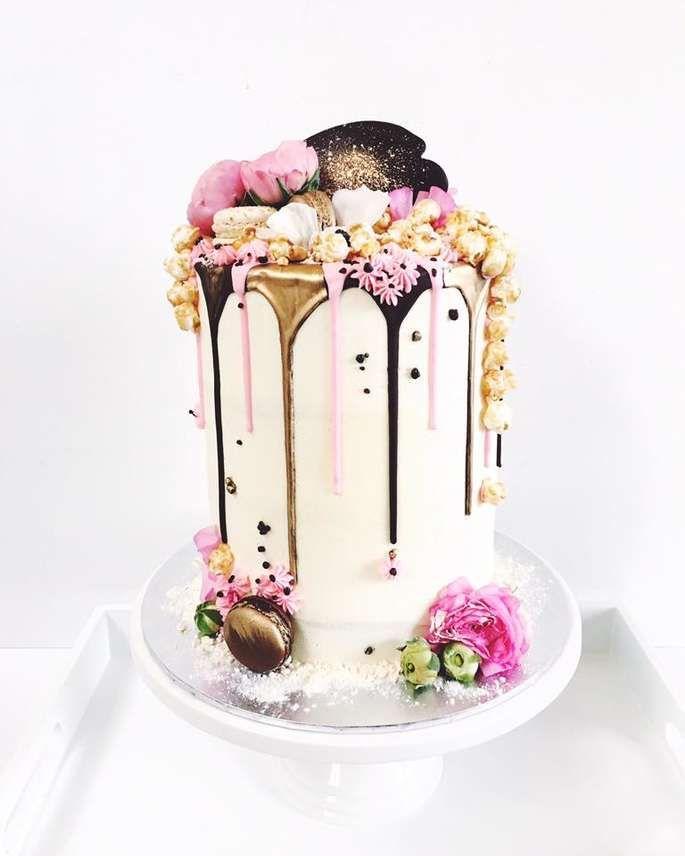 Der Dripping Cake – Ein Hochzeitstorten-Trend, der alle Herzen erobert #celebrationcakes
