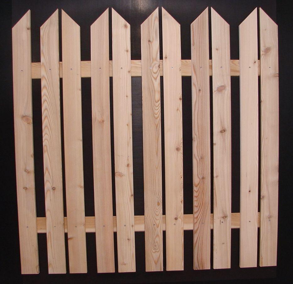Details zu Zaunlatten Gartenzaun Holzzaun Rundbogenlatte Nr 3 in