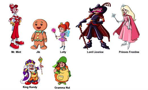 Candy Land Characters Candyland Characters Names Candyland Candy Land Characters Candyland Decorations