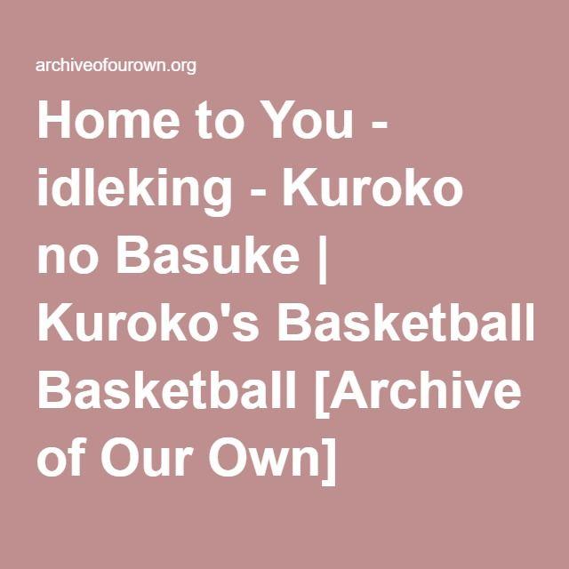KurokoKise. It's Kuroko's birthday, but Kise isn't home