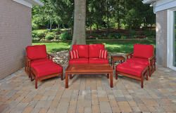 Backyard Creations 7 Piece Ashland Deep Seating Collection