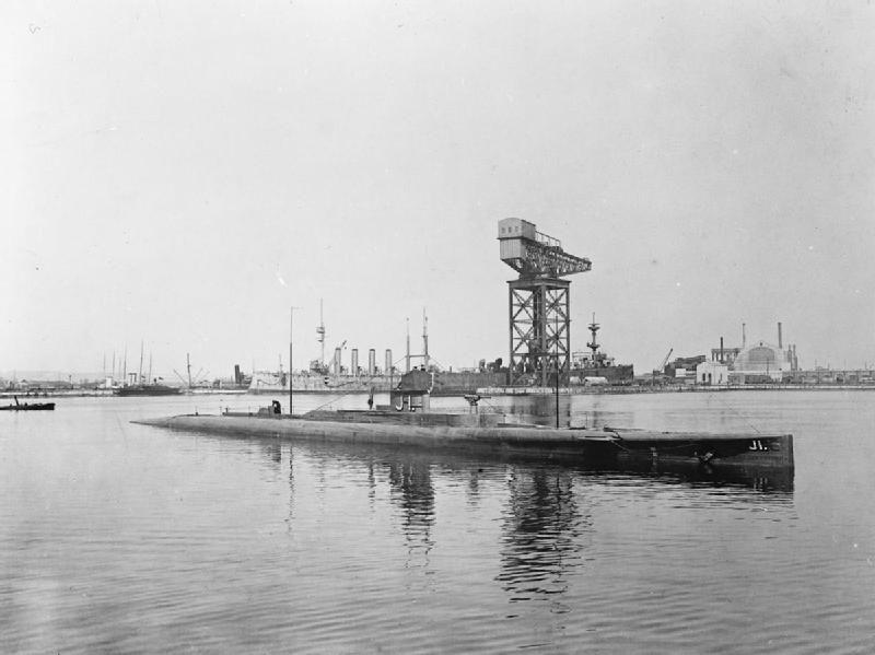 BRITISH SHIPS FIRST WORLD WAR (SP 24) HM Submarine J.1